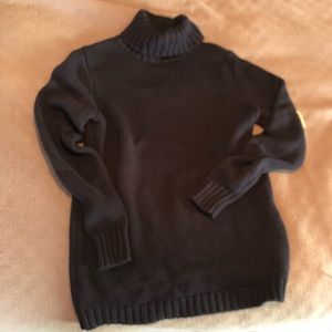 Philosophy Navy Turtleneck Sweater